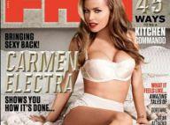 Carmen Electra, ultrasexy à 41 ans : Elle est la plus âgée cover girl de FHM !