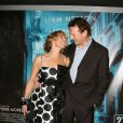 """""""Liam Neeson et sa femme Natasha Richardson à Paris le 16 février 2008."""""""