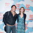 Bruno Debrandt, Marie Kremer à l'avant première du film Aimer, boire et chanter à Paris le 10 mars 2014.