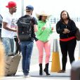Exclusif - Nicki Minaj en vacances avec son entourage à Cabo San Lucas, au Mexique. Mars 2014.