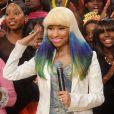 Nicki Minaj à New York. Décembre 2010.