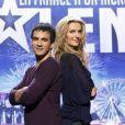Sandrine Corman et Alex Goude présentent La France a un incroyable talent sur M6.