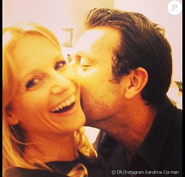 Sandrine Corman folle amoureuse de son futur mari, Michel Bouhoulle