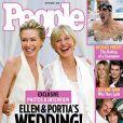 Ellen DeGeneres et sa compagne Portia de Rossi en couverture de People