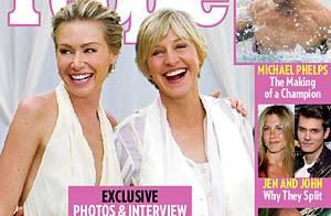 PHOTOS : Premières images du mariage d'Ellen DeGeneres et de Portia de Rossi !