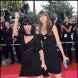 Les Putafranges - Tania Bruna-Russo  et Cécile Togni au 61e Festival de Cannes le 22 mai 2008.