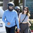 Bruce Jenner pass un peu de temps avec sa fille Kylie à Malibu, le 16 mars 2014.