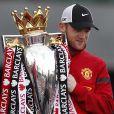 Wayne Rooney lors de la parade des champions à Manchester, le 13 mai 2013