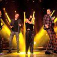 Les coachs interprètent Vieille Canaille dans The Voice 3 le samedi 22 mars 2014 sur TF1