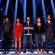 La team de Garou dans The Voice 3 le samedi 22 mars 2014 sur TF1