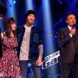 Pierre Edel et Natacha Andreani sont sauvés par Garou lors de l'épreuve ultime dans The Voice 3 le samedi 22 mars 2014 sur TF1