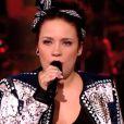 Manon lors de l'épreuve ultime dans The Voice 3 le samedi 22 mars 2014 sur TF1