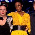 Jenifer décide de sauver Manon et La Petite Shade lors de l'épreuve ultime dans The Voice 3 le samedi 22 mars 2014 sur TF1