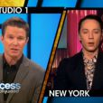 Johnny Weir en interview avec Access Hollywood. Mars 2014.