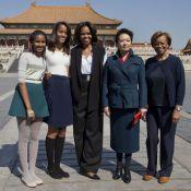 Michelle Obama : En Chine avec ses filles et sa mère, elle provoque ses hôtes