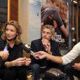 """Exclusif - Les acteurs Alexandra Lamy et Jacques Gamblin à Nice le 18 mars 2014, pour la présentation du film """"De Toutes Nos Forces"""" réalisé par Nils Tavernier."""