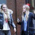 Cressida Bonas, girlfriend du prince Harry, dans le quartier de Soho à Londres le 24 mars 2014