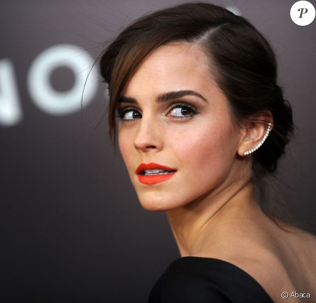 Emma Watson en Oscar de la Renta à la première du film Noé, à New York, le 26 mars 2014.