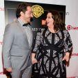 Ben Falcone et sa femme Melissa McCarthy au panel Warner Bros lors CinemaCon 2014 au Caesars Palace à Las Vegas, le 27 mars 2014.