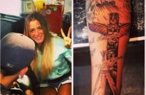 Les Anges de la télé-réalité 6 : Anaïs dévoile son énorme nouveau tatouage !