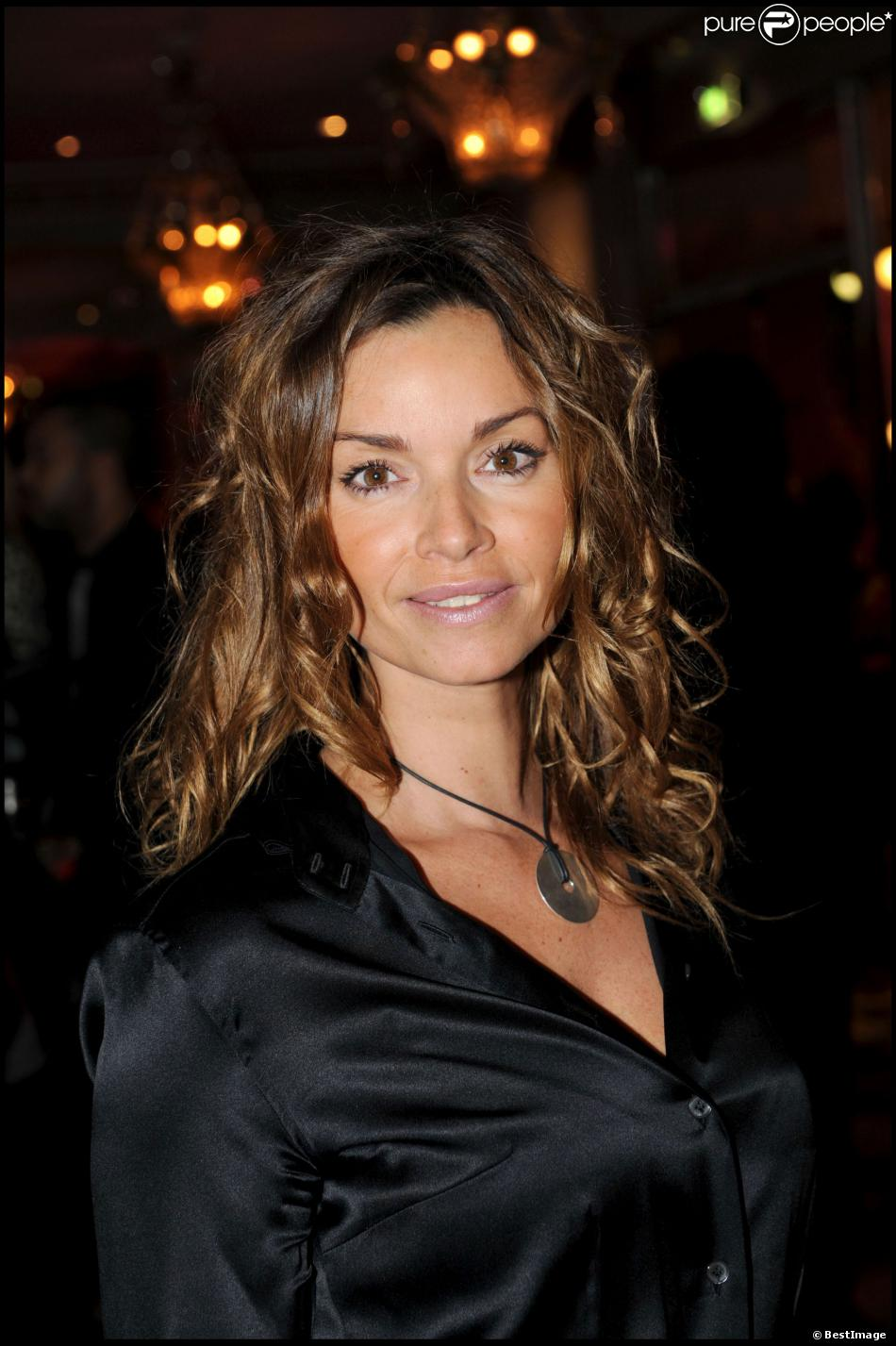 Ingrid Chauvin lors du dîner de la mode en janvier 2010