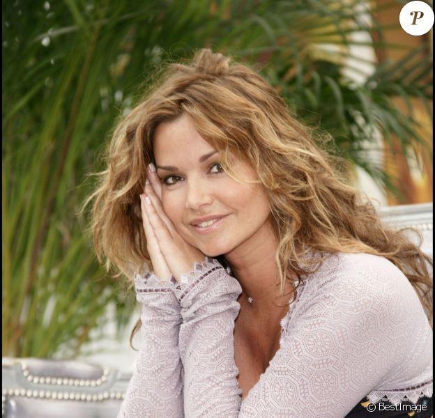 Ingrid Chauvin au Festival de Télévision de Monte Carlo, le 12 juin 2008.