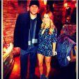 Matthew Stafford, quarterback des Detroit Lions, et Kelly Hall. Le couple s'est fiancé en mars 2014.