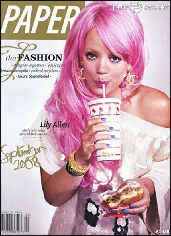 Lily Allen pour Paper Magazine