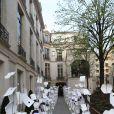 Ambiance - Le stylo Meisterstück de Montblanc fête son 90ème anniversaire à l'institut des lettres et Manuscrits à Paris le 1er avril 2014.01/04/2014 - Paris