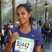 Karine Le Marchand et Paul Belmondo : Survitaminés pour le Marathon de Paris