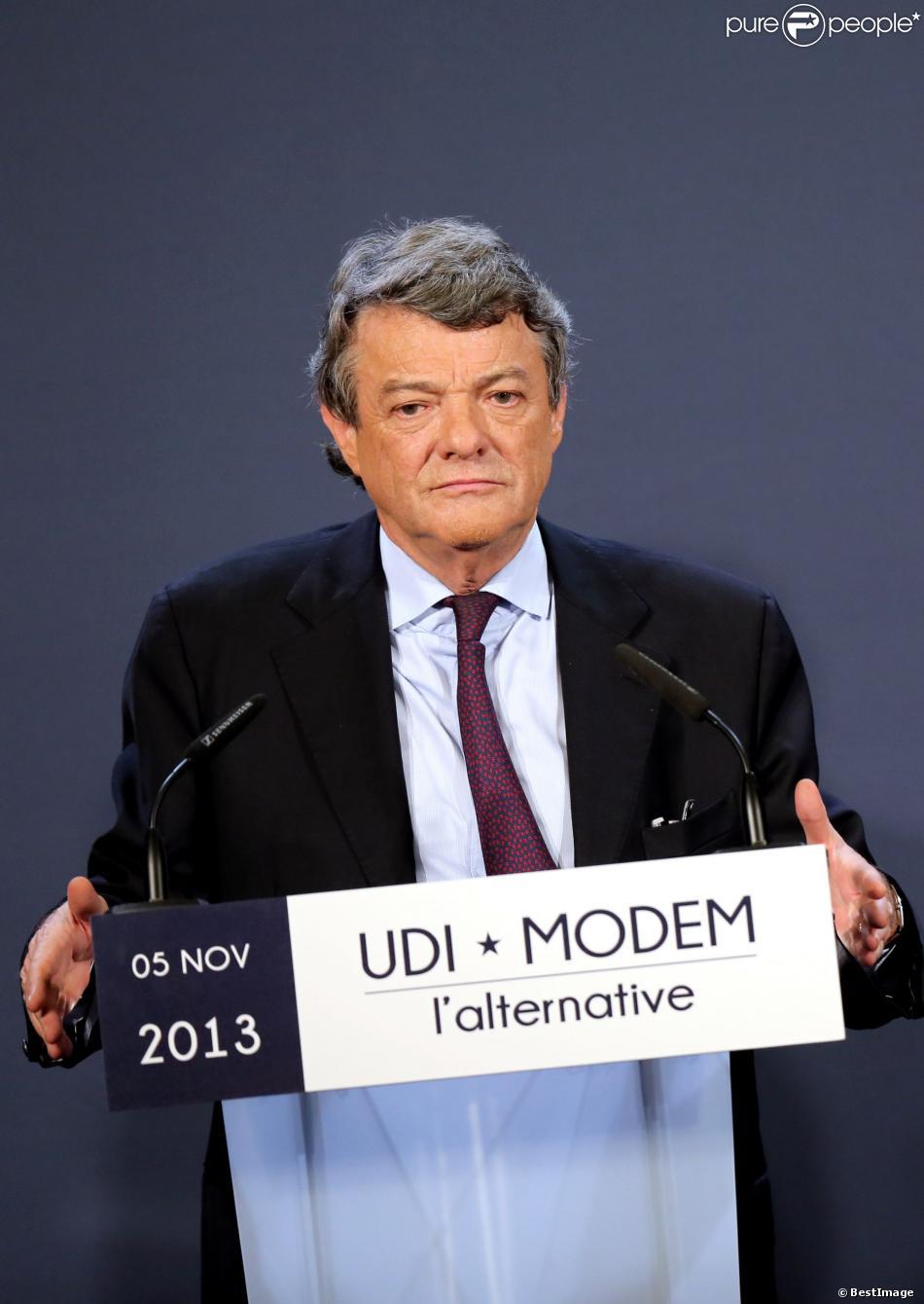Jean-Louis Borloo à Paris le 5 novembre 2013.