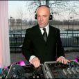 PHILIPPE CORTI, DJ DE LA SOIREE - CEREMONIE POUR PIA DE BRANTES QUI EST ELEVEE AU RANG DE CHEVALIER DANS L' ORDRE NATIONAL DE LA LEGION D'HONNEUR A PARIS DANS LES SALONS DE L'HOTEL DE SEIGNEULEY, le 25 mars 2007.