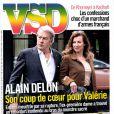 Le magazine VSD du 10 avril 2014 avec Valérie Trierweiler et Alain Delon en couverture