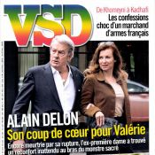 Alain Delon et Valérie Trierweiler : ''Il ne s'est rien passé entre nous''