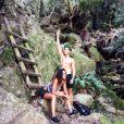 Shy'm profite de ses vacances en Afrique du Sud. Avril 2014.