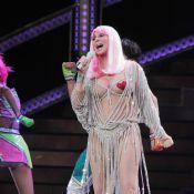 Cher, 67 ans : Cache-tétons et bodys moulants, l'icône des 70s fait le show !