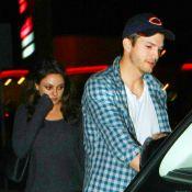 Mila Kunis, enceinte, et Ashton Kutcher : Un futur papa aux petits soins !
