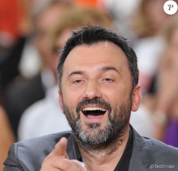 Frédéric Lopez - Enregistrement de l'émission 'Vivement Dimanche' à Paris le 26 Septembre 2012.