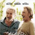 """Eddy Michell et Johnny Hallyday à l'affiche de """"Salaud, on t'aime"""" de Claude Lelouch, le 2 avril 2014."""
