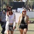 """ Ava Sambora au Festival de Coachella à Indio en Californie, le 13 avril 2014. """