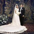 Portrait du mariage de la princesse Madeleine de Suède et Christopher O'Neill, célébré le 8 juin 2013 à Stockholm. Le baptême de leur fille la princesse Leonore aura lieu le 8 juin 2014 au palais royal.
