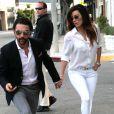 Eva Longoria et son petit ami Jose Antonio Baston à West Hollywood, Los Angeles, le 27 décembre 2013.