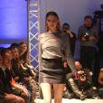 """Defile - Shy'm, directrice artistique de la nouvelle marque créateur """"AS I AM"""", présente la collection printemps/été 2014 à la galerie Nikki Diana Marquardt à Paris, le 4 decembre 2013.04/12/2013 - Paris"""