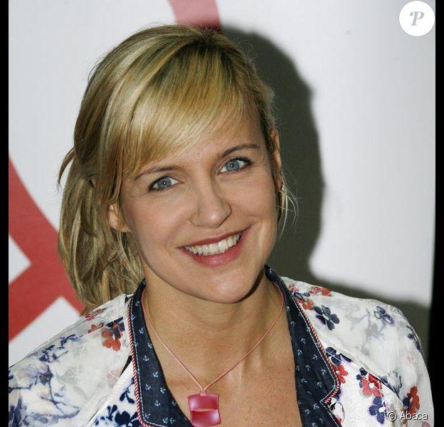 Céline Géraud présentatrice de l' île d la tentation