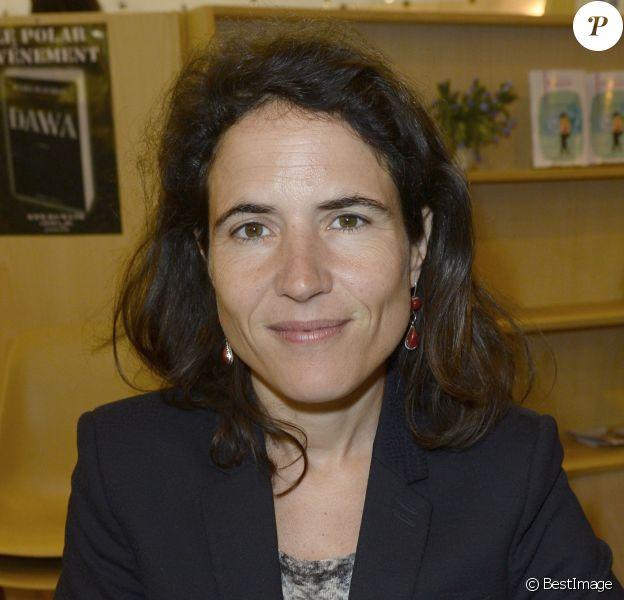 Mazarine Pingeot à Paris, le 23 mars 2014.