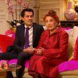 Elise et Thierry dans Qui veut épouser mon fils ? 3, premier épisode diffusé le 25 avril 2014 sur TF1.
