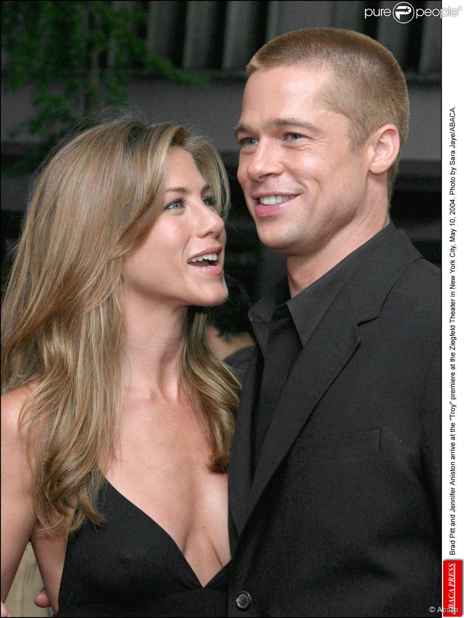 Brad pitt and jennifer aniston s wedding picture u