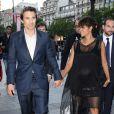 Olivier Martinez et Halle Berry enceinte - Soirée spéciale Les Toiles Enchantées lors du Champs-Elysées Film Festival 2013 à Paris le 13 juin 2013.