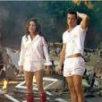 """Angelina Jolie et Brad Pitt dans """"Mr. & Mrs. Smith"""" sorti en 2005."""