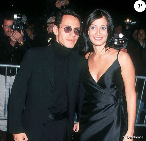 Marc Anthony et Dayanara Torres à New York. Octobre 1999.